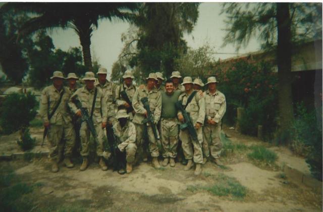 After Sunday Service Iraq